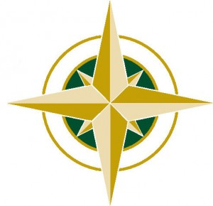 Compass Portion of Logo